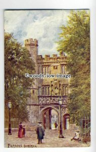 ar0406 - Entrance Gate to Trinity College, Cambridge - Artist - U/K -  Postcard