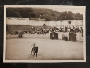 Mint Mexico RPPC Real Photo Postcard Mexican Rodeo