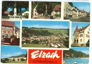 Germany, Elzach im Schwarzwald, used Postcard