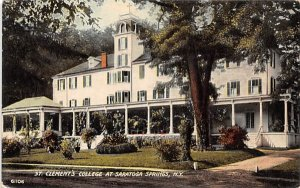 ny-saratoga_springs St Clements College Unused