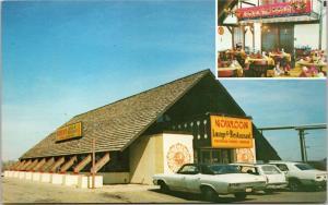 postcard - Kowloon Restaurant, Anderson, Indiana