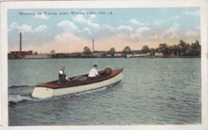 Indiana Winona Lake Motoring On Winona Lake 1921