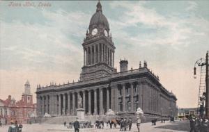 LEEDS, England, 1900-1910's; Town Hall