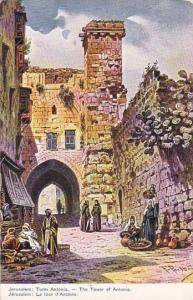 Jerusalem , Israel , 00-10s ; Tower of Antonia