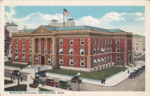 NEW BEDFORD, Massachusetts, 1900-1910's; Municipal Building