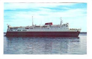 Car Ferry ship AMBROSE SHEA, Canada, 40-60s