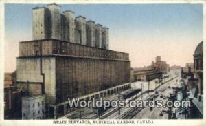 Grain Elevator Montreal Harbor Canada Unused
