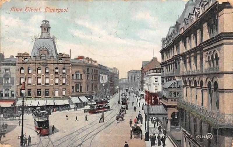 Liverpool Lime Street Tram Promenade
