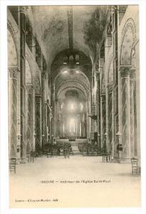 Issoire , France , 00-10s ; Interieur de l'Eglise Saint-Paul