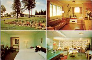 Wandlyn Motels New Brunswick NB Multiview Vintage Postcard D41 *As Is