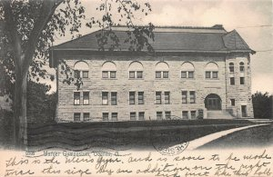 Warner Gymnasium, Oberlin, Ohio, early postcard, Undivided Back, Used in 1905