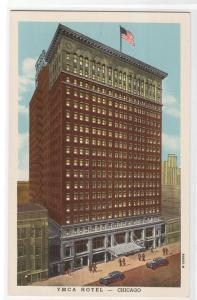 YMCA Hotel Chicago Illinois postcard