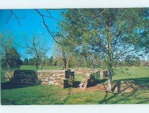 Pre-1980 CIVIL WAR BATTLEFIELD Manassas Virginia VA AF8107