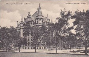 Illinois Chicago Womens Dormitories East View The Universit Of Chicago Albertype