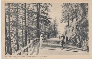SIMLA , India , 1910s ; The Mall , below the United Service Club