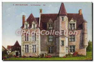 Old Postcard Arcy sur Cure Chatenay