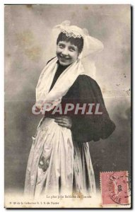 Old Postcard The Sables d Olonne The prettiest sablaise of the Year Folklore ...