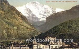 Interlaken Swizerland, Schweiz, Svizzera, Suisse Und die Jungfrau  Und die Ju...