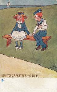 AS; HAMMISH, PU-1906; Hope Told A Flattering Tale, TUCK SAILOR LADDIE 6414