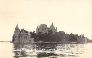 Alexandria Bay New York Boldts Castle Real Photo Antique Postcard K80826