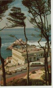 CA, San Francisco, Gray Line, Cliff House Restaurant Chrome Postcard PC8