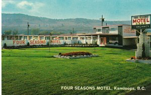 KAMLOOPS, British Columbia, Canada, 1950-1960s; Four Seasons Motel