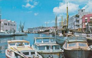 Boats, Bridgetown, Barbados, West Indies, PU-1968