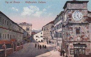 Trg od Orunzja - Waffenplatz Cattaro , Croatia , 00-10s