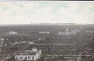 Looking East From Top Of Washington Monument, WASHINGTON, D.C., 1900-1910s