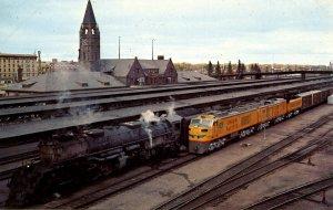 WY - Cheyenne. Union Pacific Railroad Depot