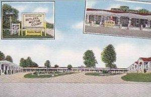 South Carolina Jacksonboro Butlers Motor Court