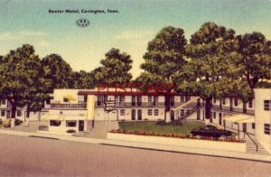 BAXTER MOTEL US Highway 51 COVINGTON, TN.