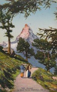 ZERMATT, Switzerland, 1900-10s; Le Mont Cervin ( Matterhorn)
