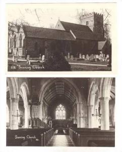 RP  2 PCs, Interior & Exterior Sonning Church, Sonning, Uk, 00-10s