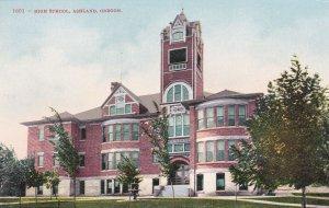 ASHLAND, Oregon, 1900-10s; High School