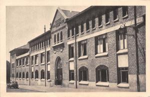 THE MODERN TECHNICAL COLLEGE WHERE WW2 GERMAN CAPITULATION SIGNED REIMS POSTCARD