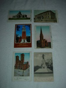 Providence RI - Lot Of 6 Great Vintage Postcards - x0596