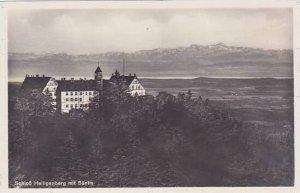 Germany Schloss Heiligenberg mit Saentis Real Photo