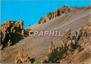 Modern Postcard Route des Grandes Alpes Col Izoard 2360m Casse Deserte