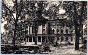 New Brunswick NJ Postcard RUTGERS UNIVERSITY Winants Hall View Albertype