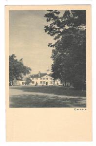 VA Mount Vernon George Washington Mansion West Front Postcar
