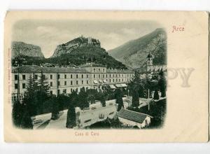251574 ITALY ARCO Casa di Cura Vintage undivided back postcard
