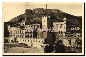 Postcard Old French Riviera Monaco Prince's Palace