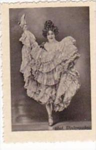 GARBATI CIGARETTE CARD FAMOUS DANCERS NO 37 SHARET