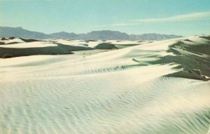 Postcard White Sands National Monument New Mexico