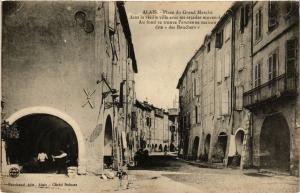 CPA ALAIS - Place du Grand Marché (380036)