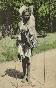south africa, Native Witch Doctor, Magician, Traditional Healer (1910s)
