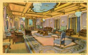 UT - Salt Lake City, Governor's Reception Room, State Capitol