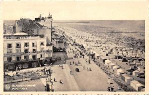 Belgium Blankenberghe, Panorama, coast beach strand CPA