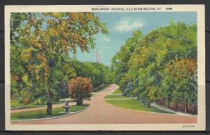 Vermont, Old Bennington - Monument Avenue